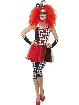 Adult Twister Harlequin Costume