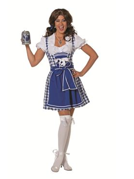 Adult Tyrolean Blue Dress Costume