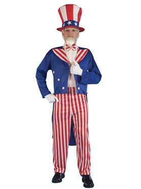 Adult Uncle Sam Costume
