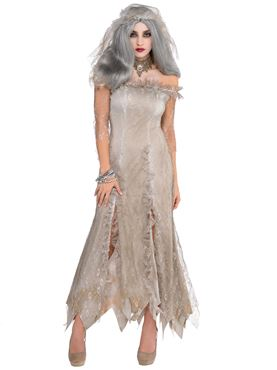 Adult Undead Bride Costume