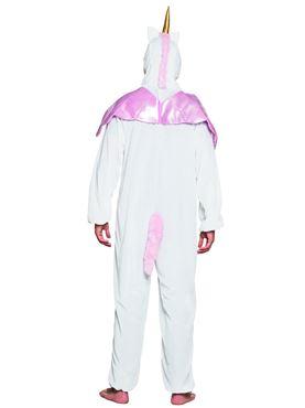 Adult Unicorn Costume - Back View