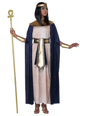 Adult Unisex Ancient Egyptian Tunic Costume - Side View