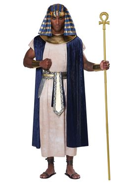 Adult Unisex Ancient Egyptian Tunic Costume - Back View