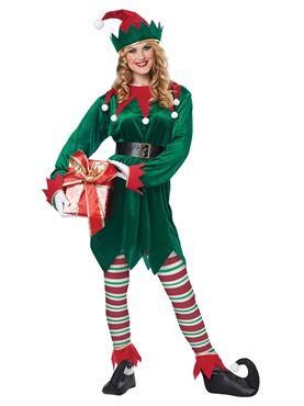 Adult Unisex Christmas Elf Costume