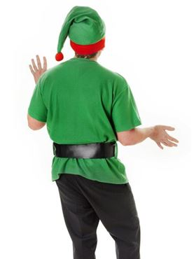 Adult Unisex Jolly Elf Kit - Side View