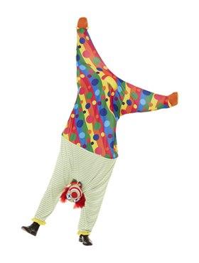 Adult Upside Down Clown Costume