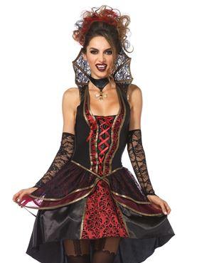 Adult Vampire Queen Costume - Side View