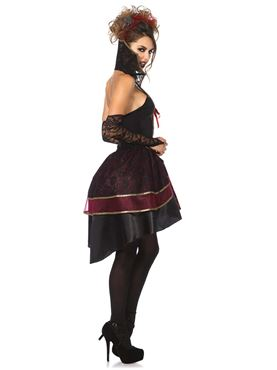 Adult Vampire Queen Costume - Back View
