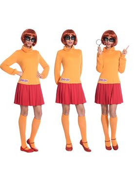 Adult Velma Scooby Doo Costume - Side View