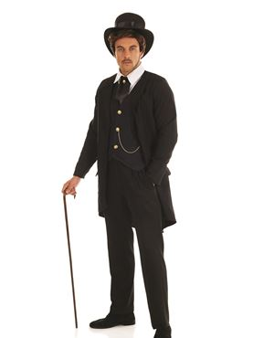 Adult Victorian Man Costume Couples Costume