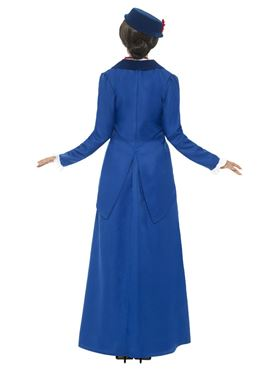 Adult Victorian Nanny Costume - Side View