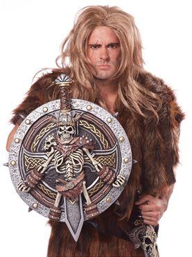 Adult Viking Lord Shield & Sword