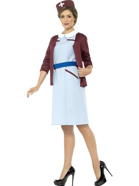 Adult Vintage Nurse Costume