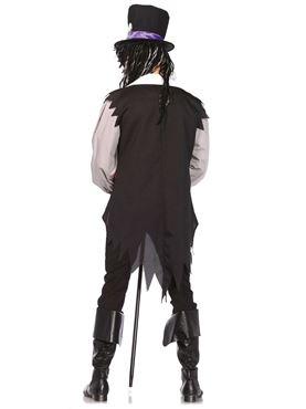 Adult Voodoo Priest Costume - Back View
