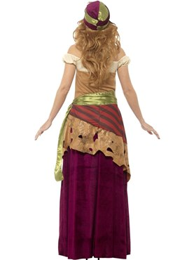 Adult Voodoo Priestess Costume - Side View