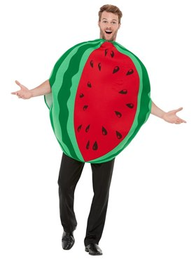Adult Watermelon Costume - Back View