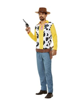 Adult Western Cowboy Costume Couples Costume
