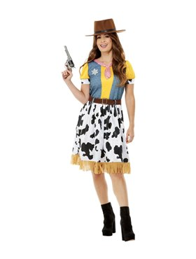 Adult Western Cowgirl Costume