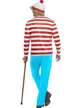 Adult Wheres Wally Costume - Side View