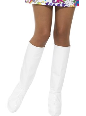 Adult White GoGo Boot Covers