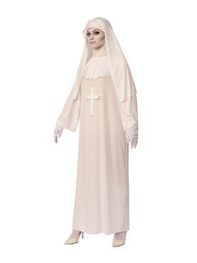Adult White Nun Costume