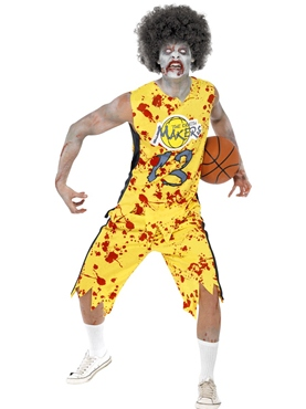 Adult Zombie Basketball Costume