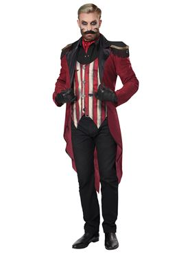 Adult Wicked Ringmaster Costume - Side View