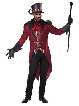 Adult Wicked Ringmaster Costume - Back View
