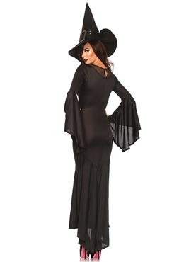 Adult Wickedly Sexy Witch Costume - Back View