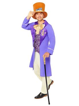 Adult Willy Wonka Costume - Back View