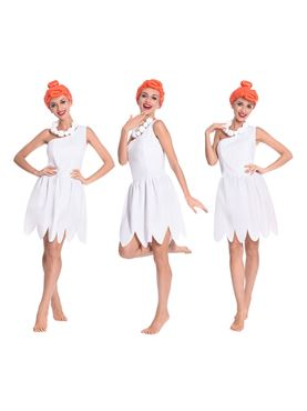 Adult Wilma Flintstone Costume - Side View