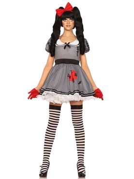 Adult Wind Me Up Dolly Costume