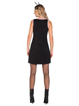 Adult Witch Please Basketball Jersey Dress - Back View