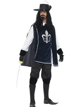 Adult Musketeer Male Costume