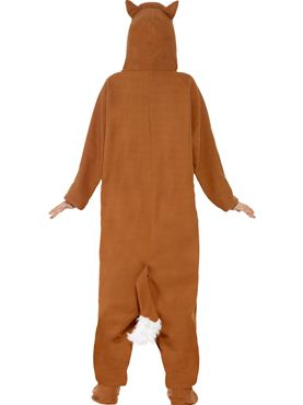 Adult Fox Onesie Costume - Side View
