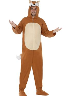 Adult Fox Onesie Costume