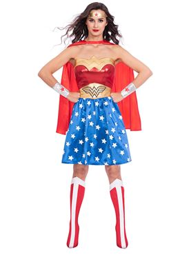Adult Wonder Woman Classic Womens Costume