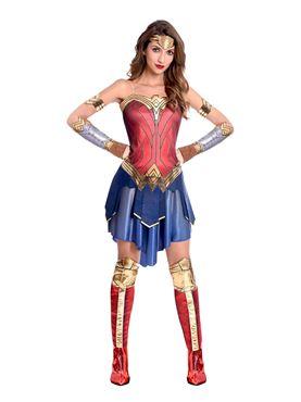 Adult Wonder Woman Movie Costume - Back View