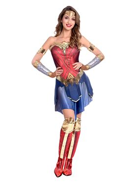 Adult Wonder Woman Movie Costume Couples Costume