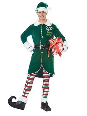 Adult Workshop Elf Costume