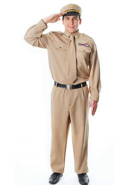 Adult WW2 Army General Costume