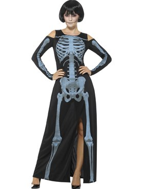 Adult X-Ray Skeleton Costume