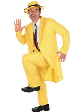 Adult Yellow Suit 'The Mask' Costume