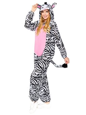 Adult Zebra Onesie Costume