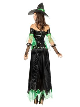 Adult Zelda Witch Costume - Side View