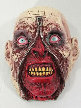 Adult Zipper Zombie Mask