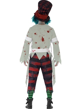 Adult Zombie Hatter Costume - Side View