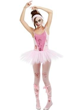Adult Zombie Ballerina Costume