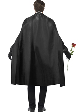 Adult Dark Opera Masquerade Costume - Side View