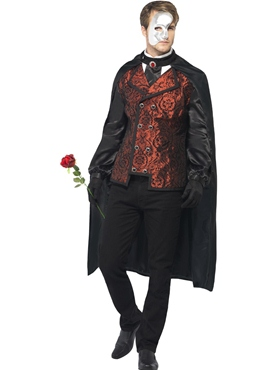 Adult Dark Opera Masquerade Costume